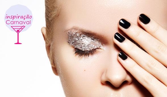 maquiagem para carnaval blog vittamina maquiagem glitter1